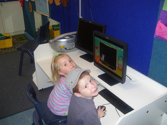 Computers at bushbabies preschool